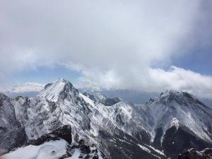 硫黄岳からの景色