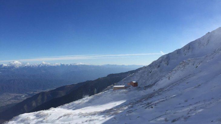 木曽駒ヶ岳は初心者向けの雪山か確認してみました