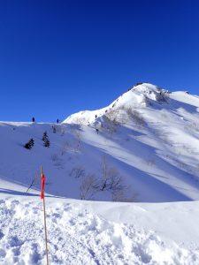 燕岳までの登山道