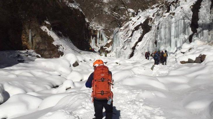 今週末は雲竜渓谷に氷瀑を見に行ってみよう!