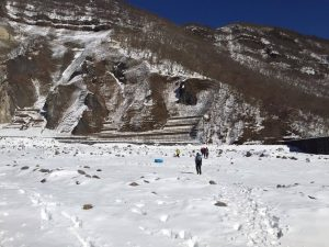 氷瀑を見に雲竜瀑へ