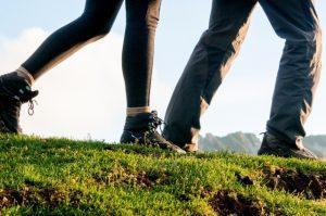 歩くを意識する