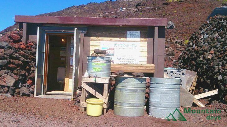 富士登山のトイレ事情
