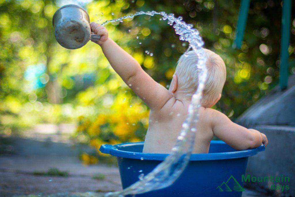 水の無駄遣いは止めよう