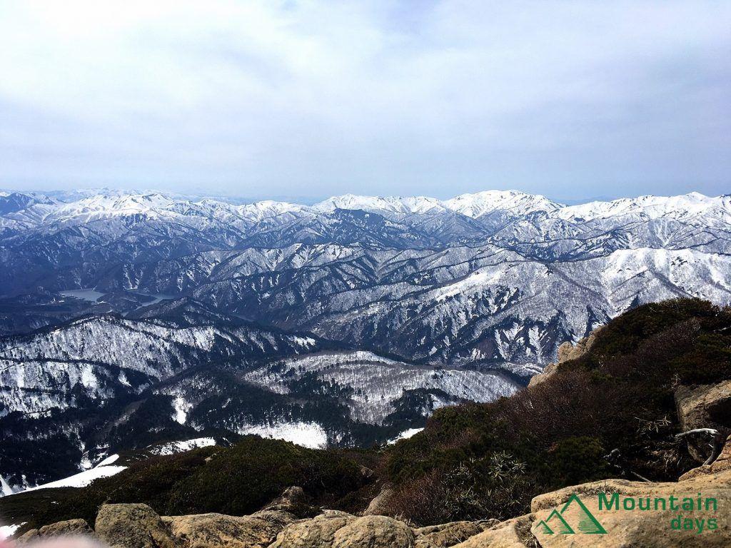 至仏山からの眺め
