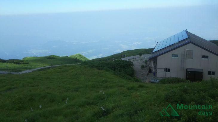 鳥取大山の山小屋
