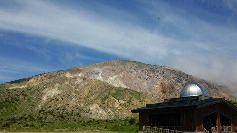 東吾妻山登山口からの景色