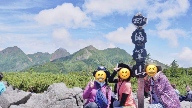 【まりの登山レポ】編笠山は日帰りで登れる!楽しめる!