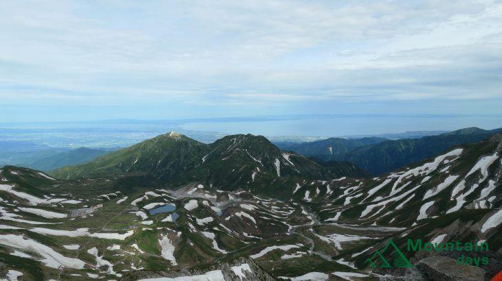 【まりの登山レポ】立山を満喫の2泊3日|立山三山縦走編|後編|北アルプス立山三山