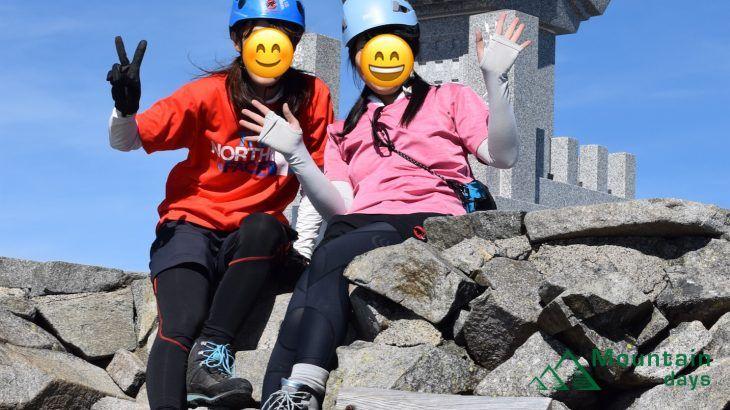 【まりの登山レポ】穂高岳を満喫した体力勝負の2泊3日|紀美子平から奥穂高岳まで吊尾根歩いた編|北アルプス穂高連邦
