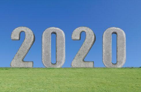 2020年を迎える写真