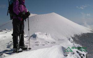 浅間山外輪山に冬季登りに行った時の登山服イメージ